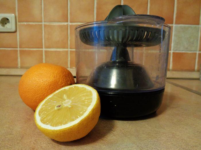 апельсин и лимон для сока