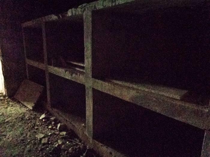 подземное хранилище времён второй мировой войны