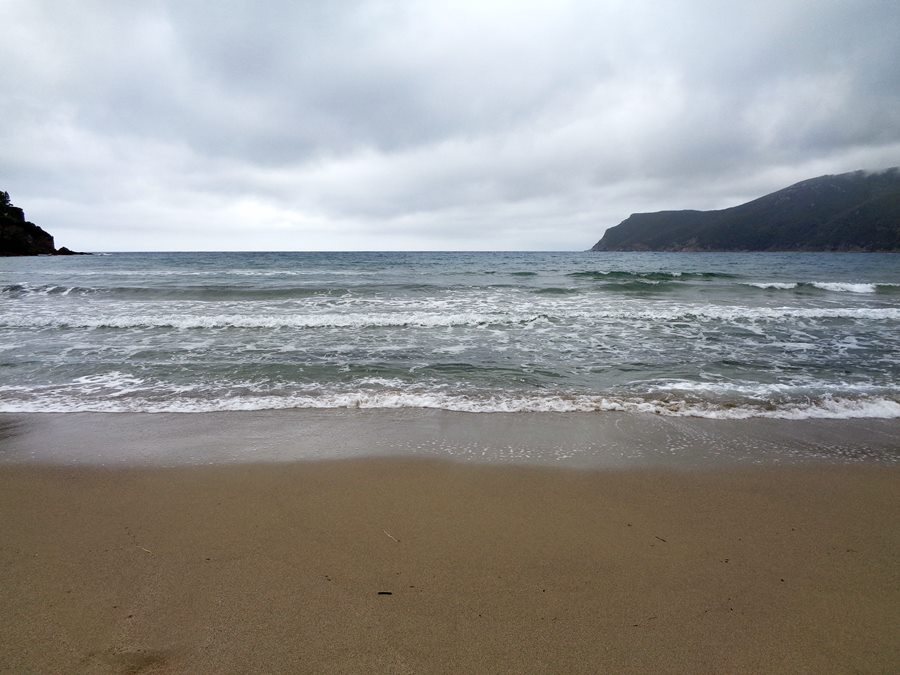 июнь на острове Эльба: вид на море с Лаконеллы