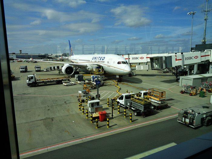 вылет из Лондона в Москву