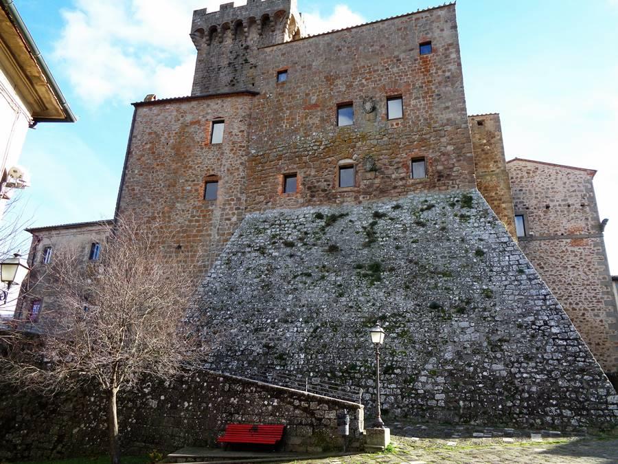 Арчидоссо, крепость