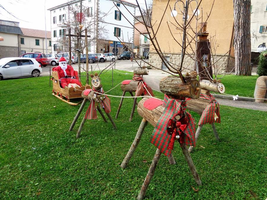 Арчидоссо, рождественское убранство