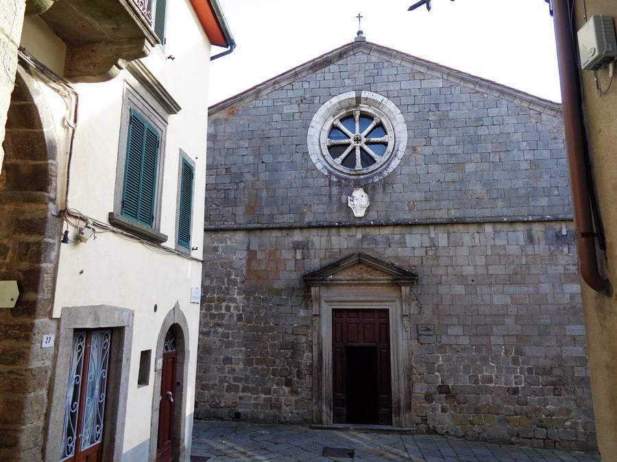 Санта Фьера - церковь