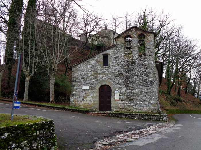 капрезе микеланджело церковь свтого джованни баттиста