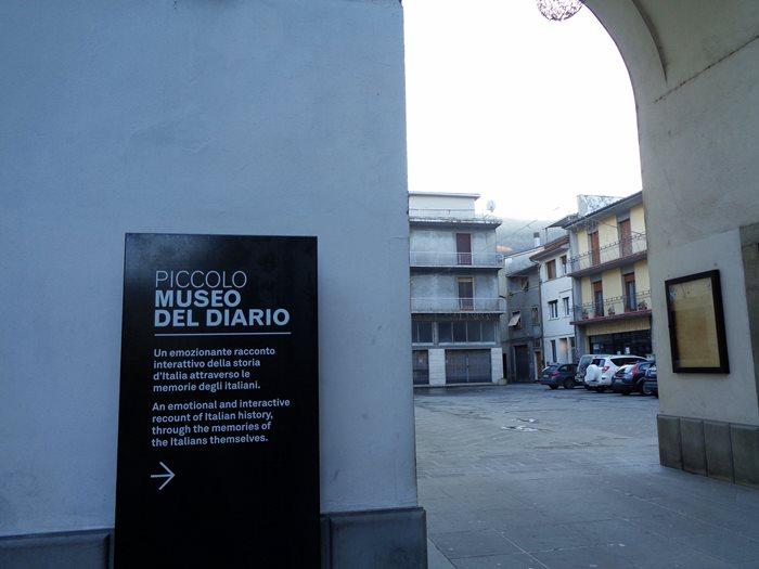 Пьеве Санто Стефано - указатель к музею девника