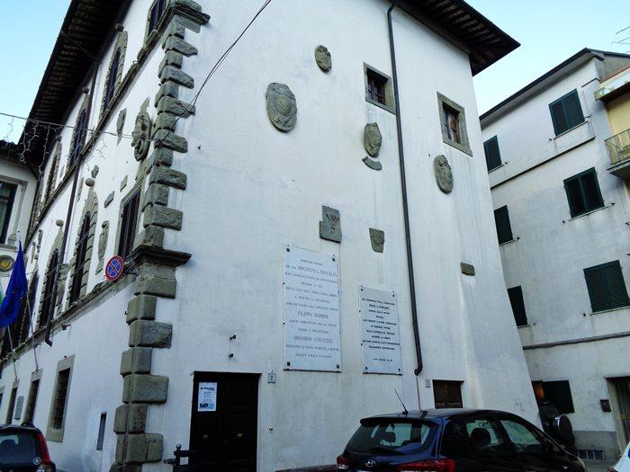 Пьеве Санто Стефано - здание муниципалитета