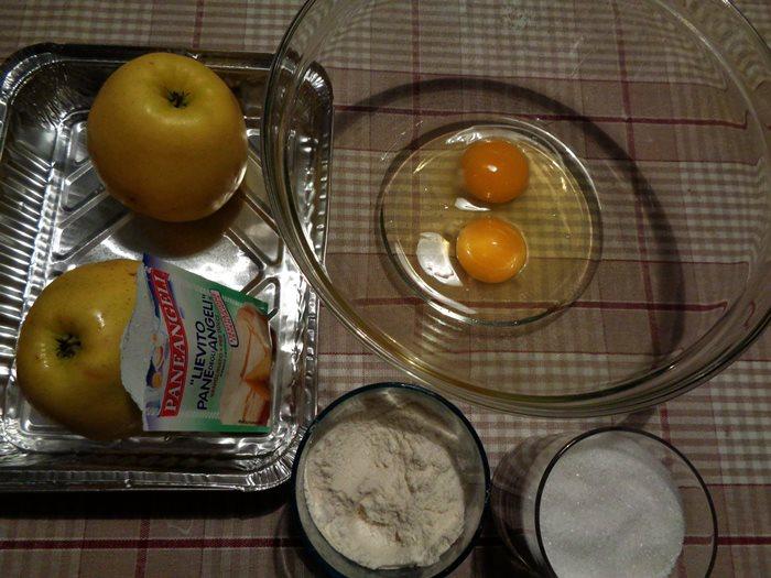пирог с яблоком - ингредиенты