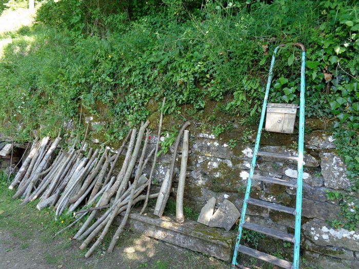 сушка дров в монастыре