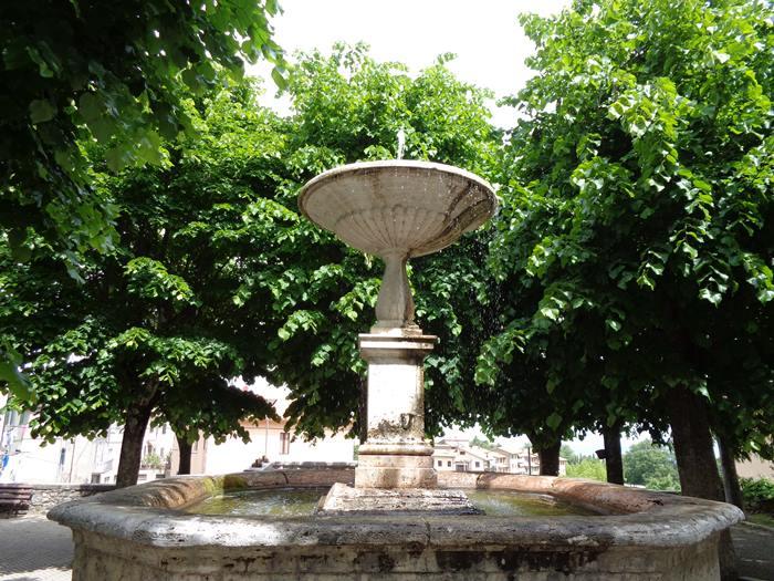Кампилья д'Орча - фонтан