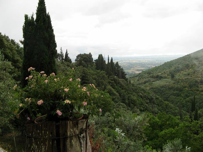 монастыри в Италии - окрестности