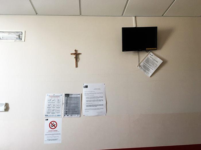 телевизор в аренду в больнице Италии
