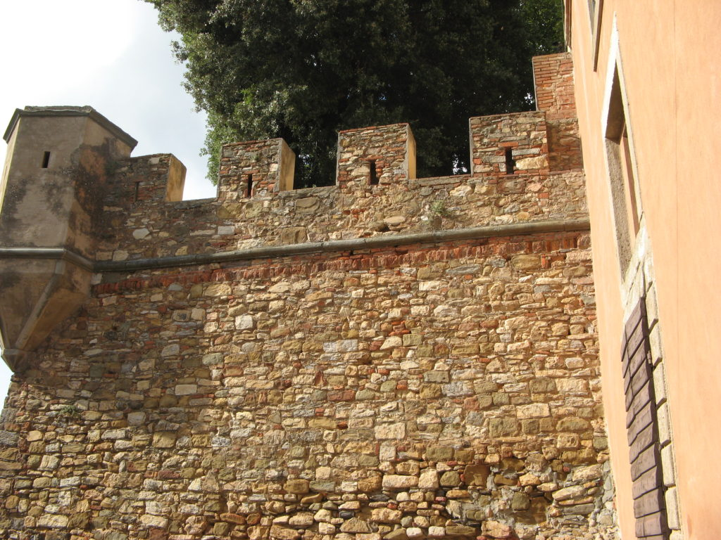 Болгери - часть крепостной стены