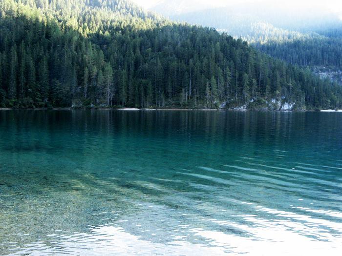 озеро товель