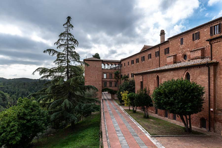 аббатство монте оливето