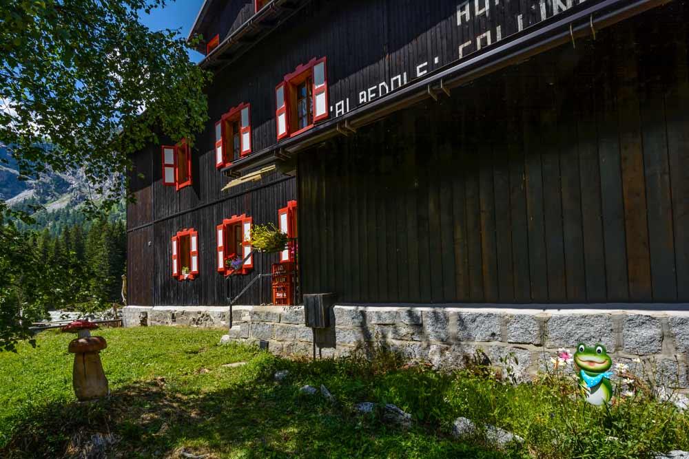 Валь Дженова - деревянный дом