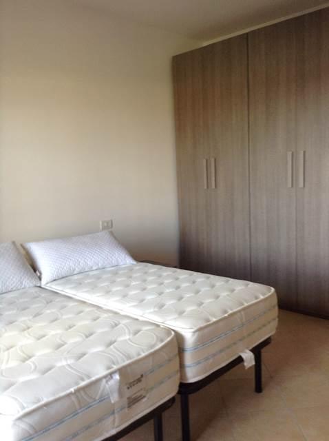 Одна из спален в квартире