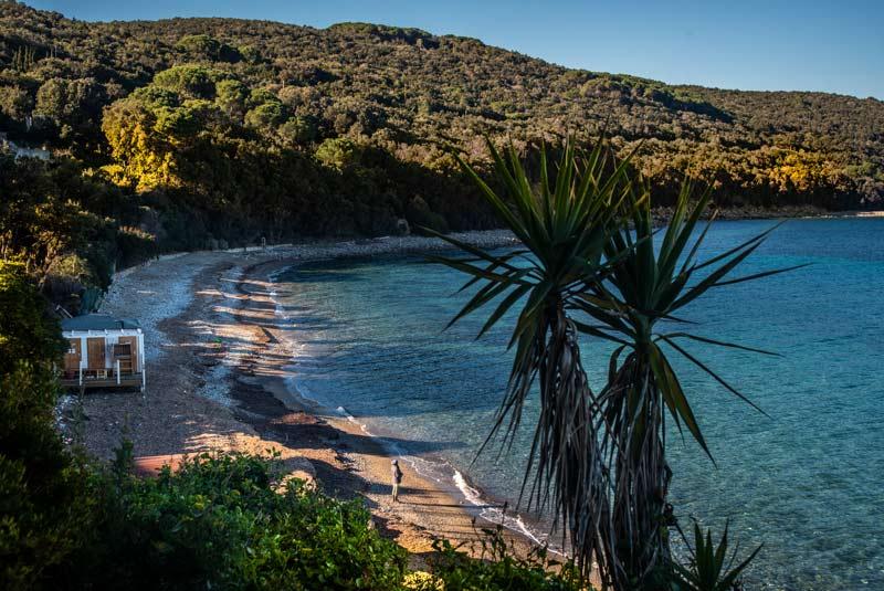 пляж Фругозо на острове Эльба