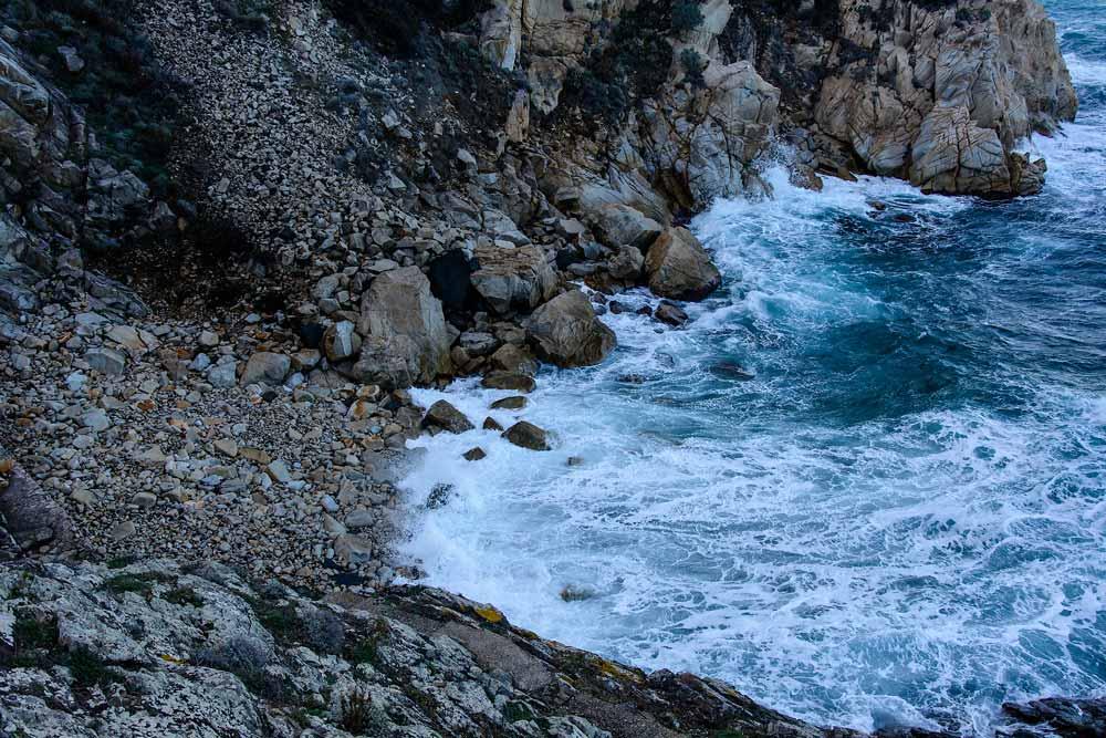 шторм у пляжа Крочетта