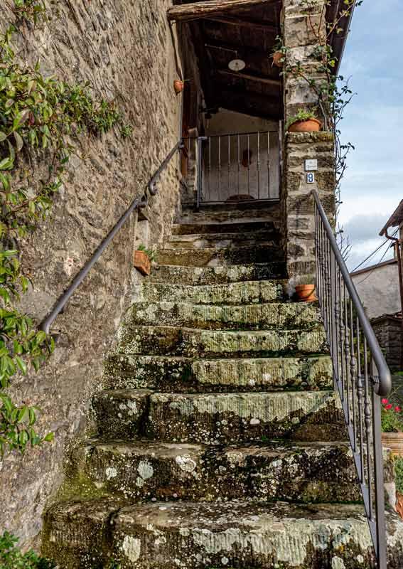 Карда - лестница