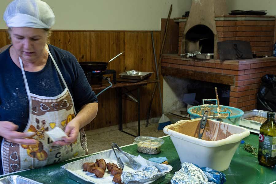 Карда - готовят фрителле