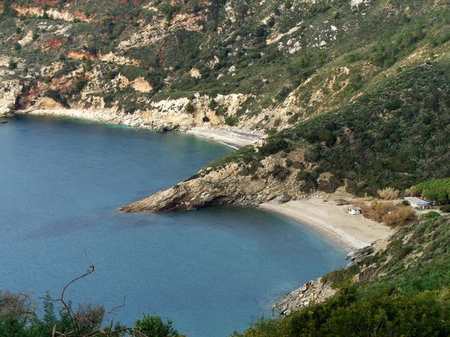 Вид с высоты на пляж Ремаёло