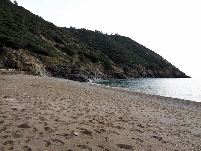 левая часть пляжа Ремаёло
