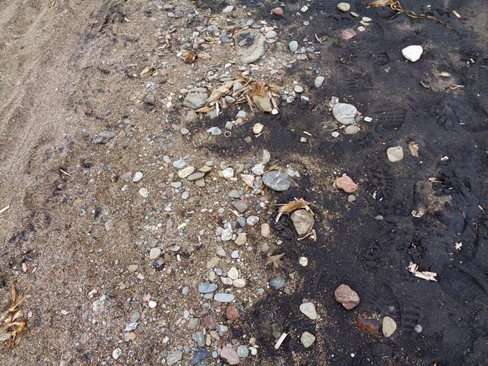 песок на пляже Иннамората