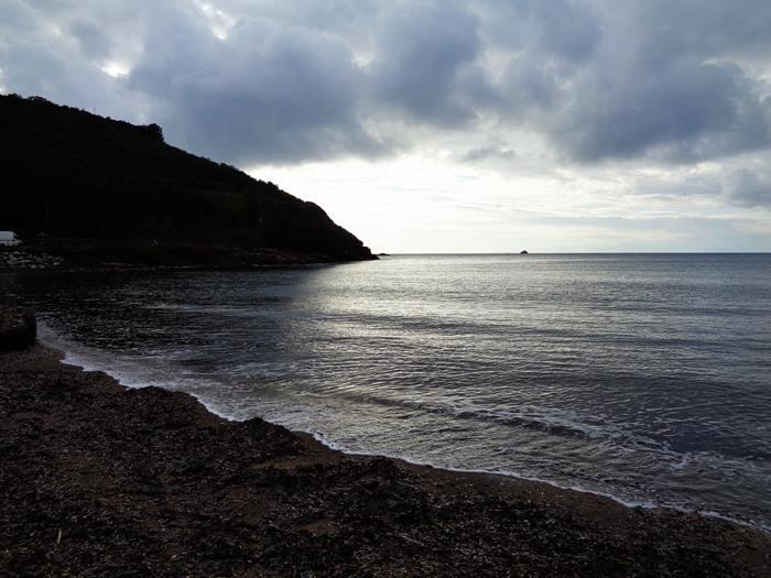пляж Иннамората - левая часть