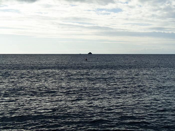 вид на море с пляжа Иннамората