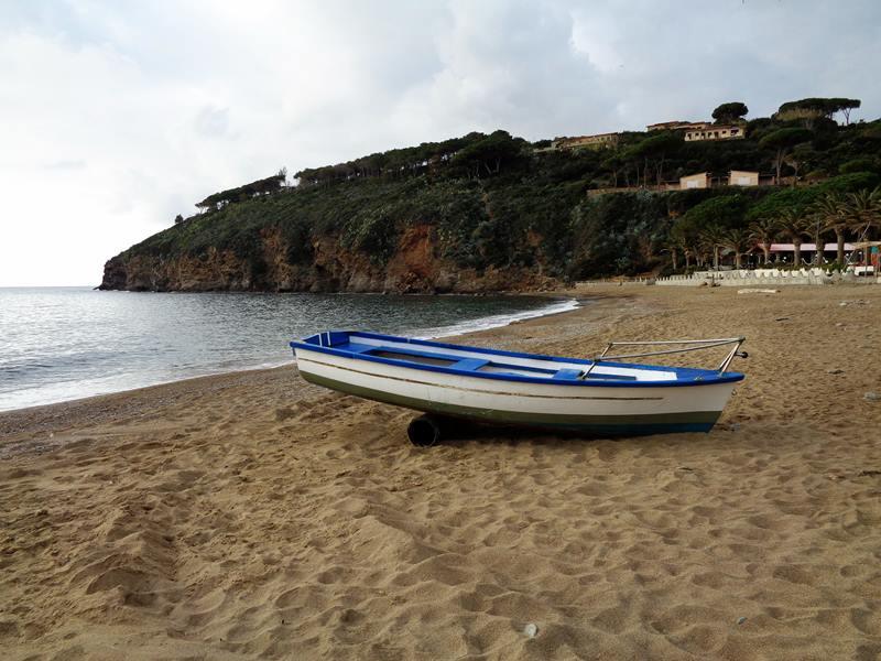 пляж Морконе - правая часть
