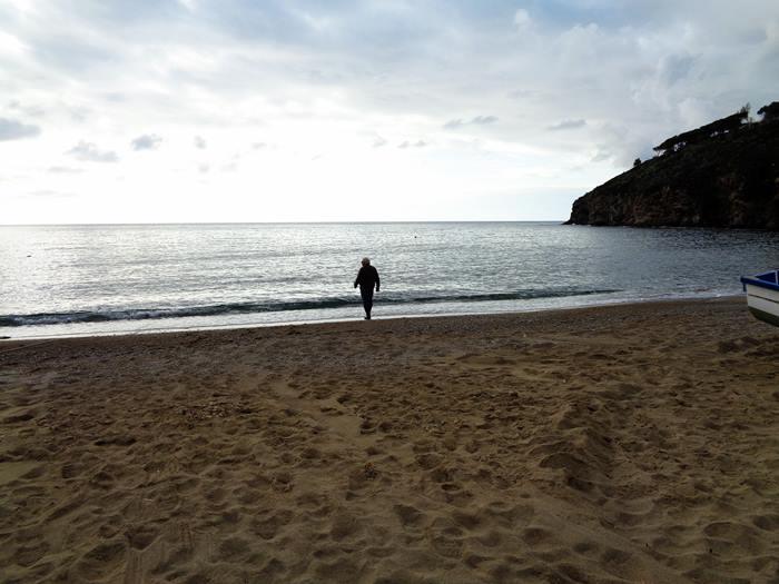 пляж Морконе - мужчина