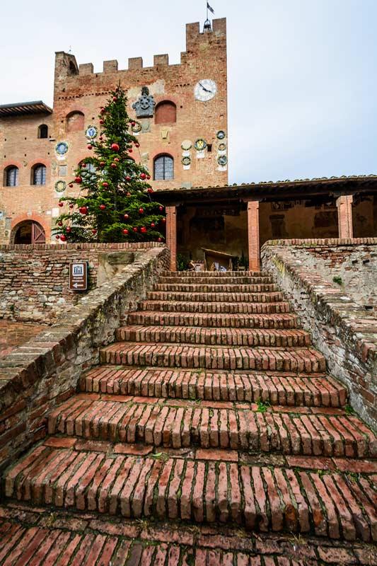 Лестница к Палаццо Преторио