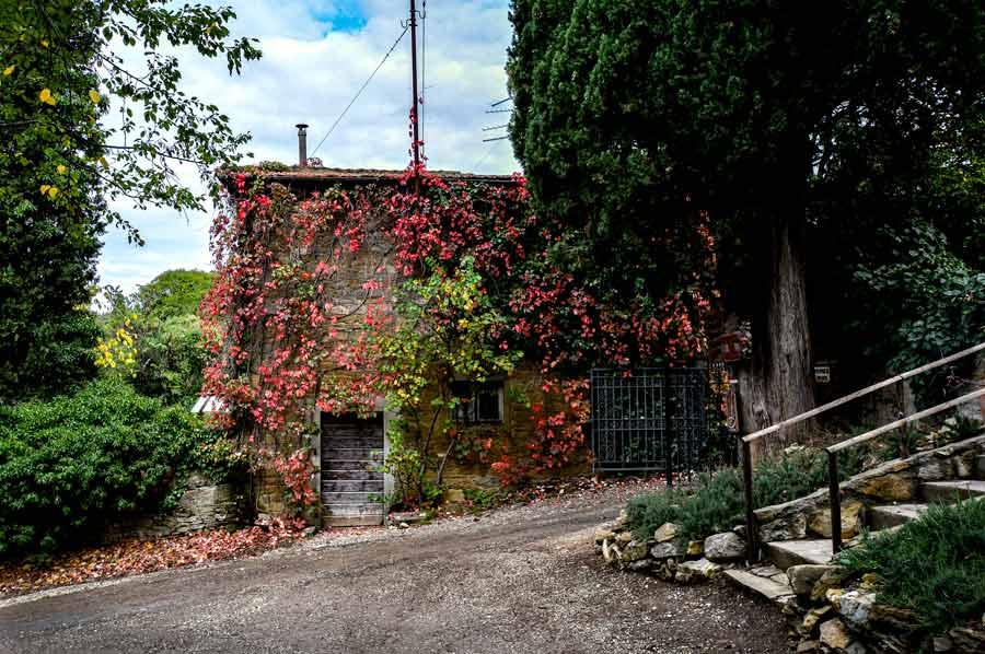 заброшенный дом возле Ареццо