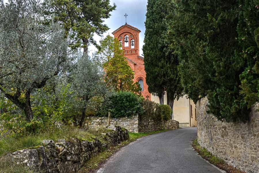 церковь возле Ареццо