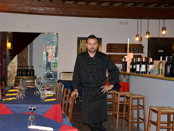 Итальянский шеф-повар Никола