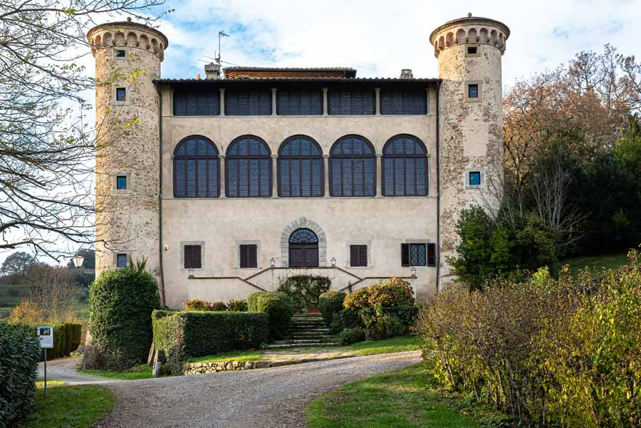 замок Гальбино, Ареццо, Ангьяри, Тоскана, Италия