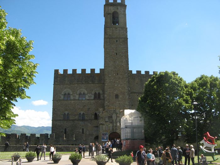 свадьба в Италии - замок в Поппи, регистрация