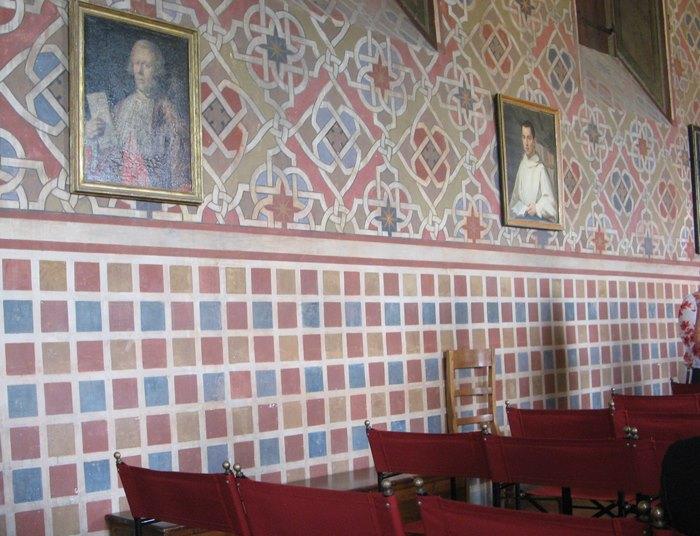 Свадьба в Италии - зал для регистрации в крепости в Поппи