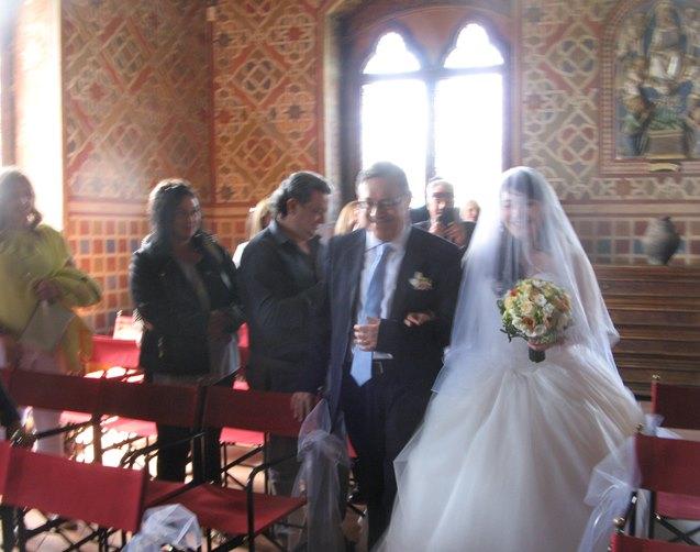 Свадьба в Италии - начало регистрации брака