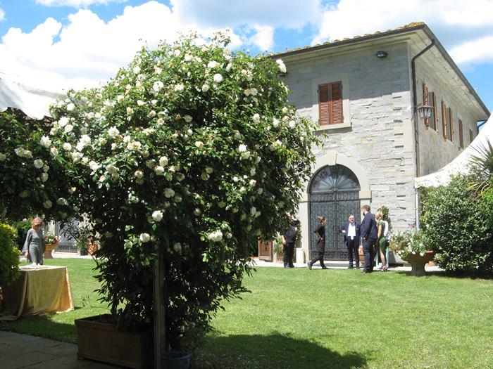 свадьба в Италии - ресторан за городом