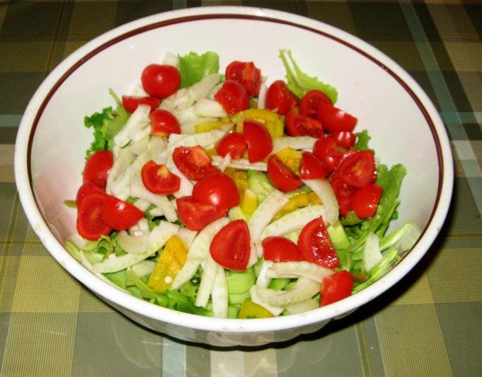 готовый салат на скорую руку