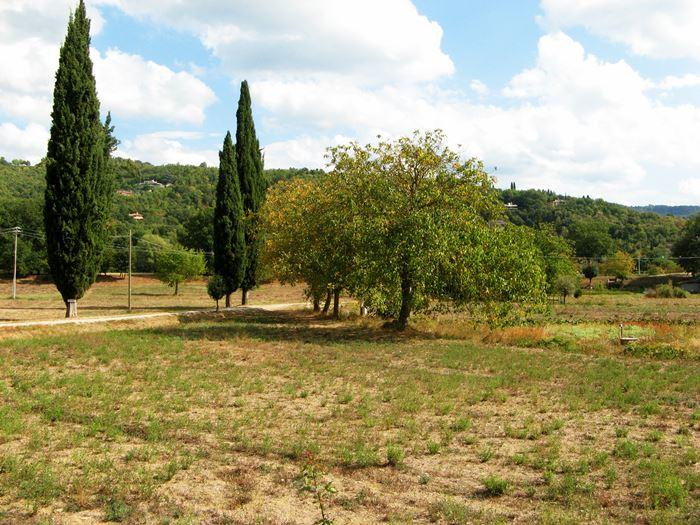 октябрь в Тоскане - появление желтизны в природе