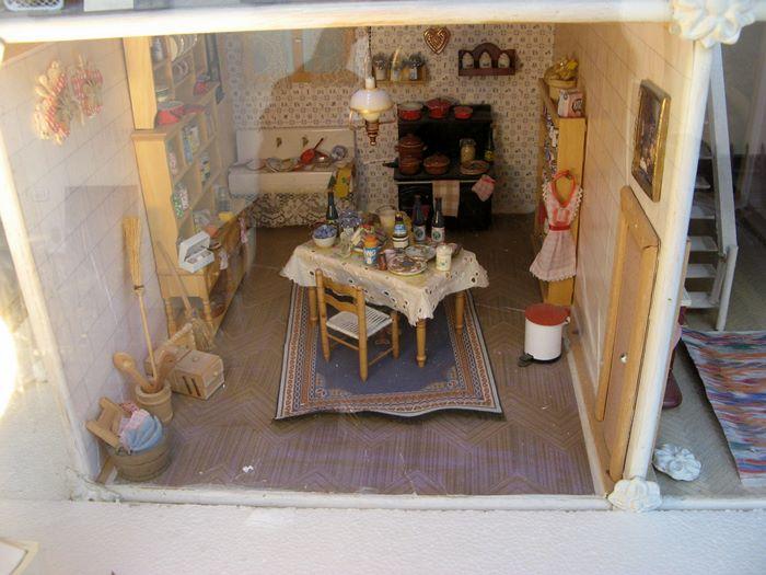 кухня в доме на витрине агентства