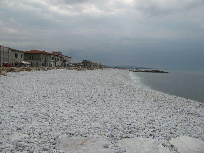 пляж в Марина ди Пиза