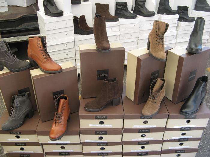 вещевой рынок - обувь