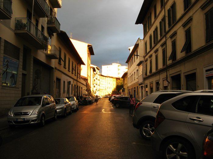 дождевые тучи над Флоренцией