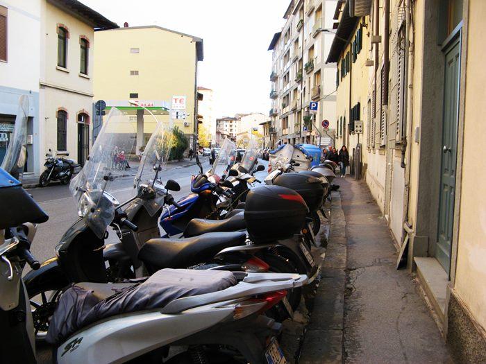 мотоциклы во Флоренции