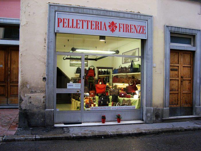 Флоренция - магазин сумок