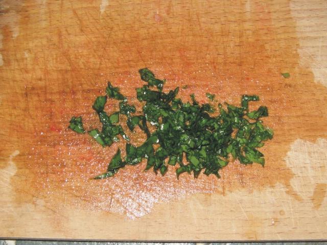 базилик режем