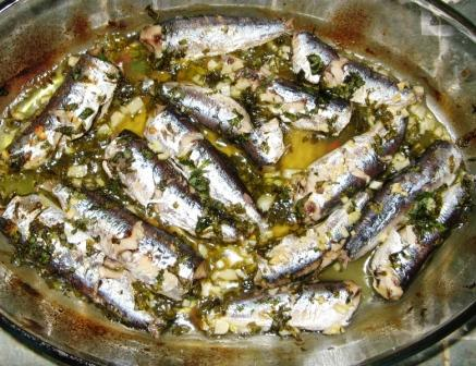 sardiny-zapechyonye-v-duxovke-сардины-запечёные-в-духовке